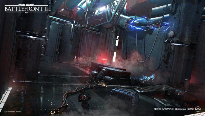 Star Wars Battlefront II Concept Art Nicolas Ferrand 11
