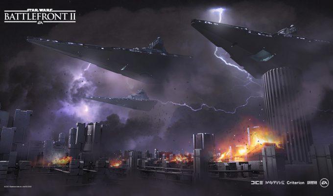 Star Wars Battlefront II Concept Art Nicolas Ferrand 13