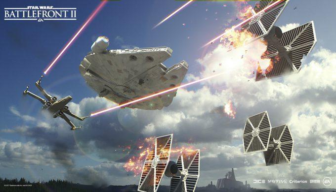 Star Wars Battlefront II Concept Art Nicolas Ferrand 15