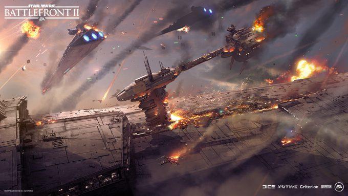 Star Wars Battlefront II Concept Art Nicolas Ferrand 20