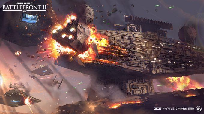 Star Wars Battlefront II Concept Art Nicolas Ferrand 21