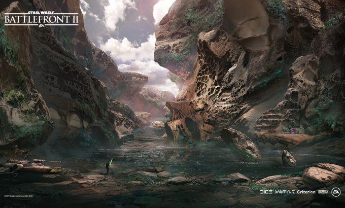 Star Wars Battlefront II Concept Art Nicolas Ferrand 25