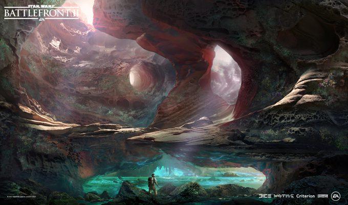 Star Wars Battlefront II Concept Art Nicolas Ferrand 35