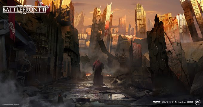Star Wars Battlefront II Concept Art Nicolas Ferrand 36