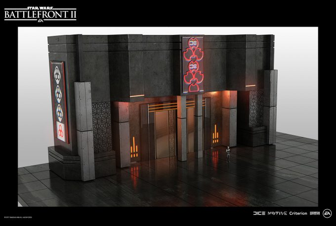 Star Wars Battlefront II Concept Art Nicolas Ferrand 39