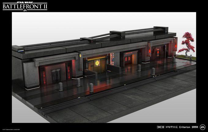 Star Wars Battlefront II Concept Art Nicolas Ferrand 42