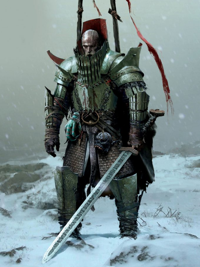The Art of God of War Concept Art World 121