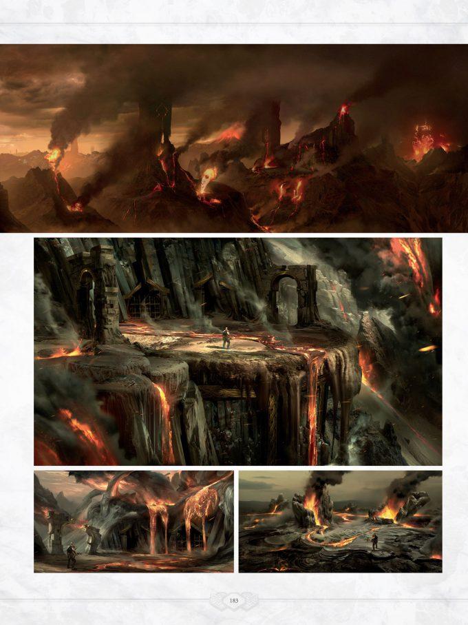 The Art of God of War Concept Art World 183