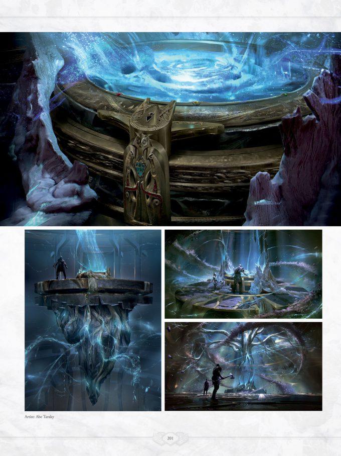 The Art of God of War Concept Art World 201