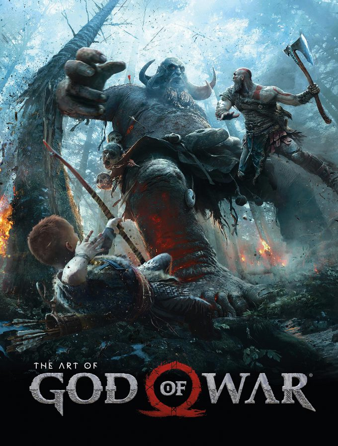 The Art of God of War Cover 01