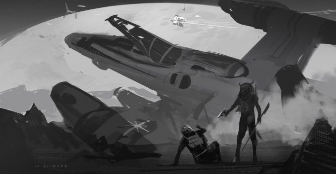 The Last Starfighter Concept Art Matt Allsopp 01