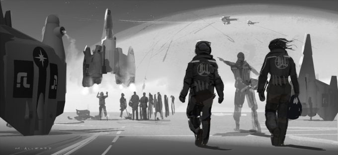 The Last Starfighter Concept Art Matt Allsopp 07