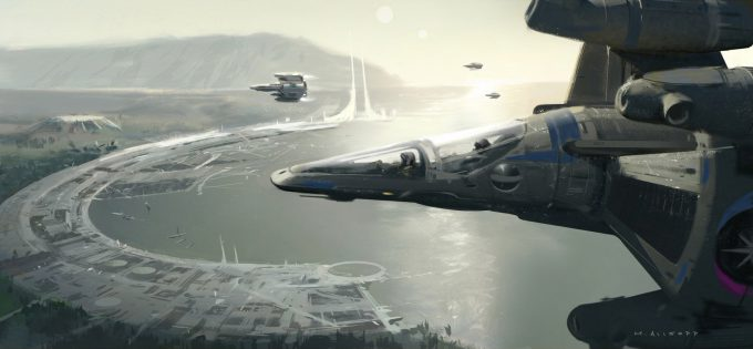 The Last Starfighter Concept Art Matt Allsopp 08