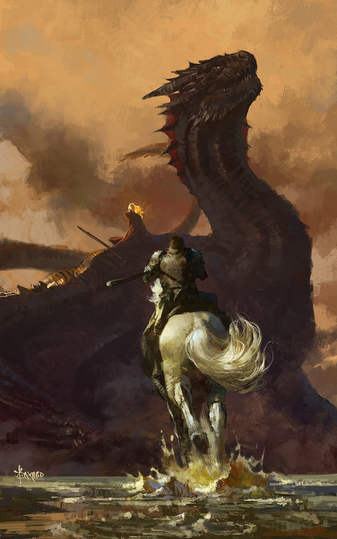 bayard wu game of thrones fan art 01