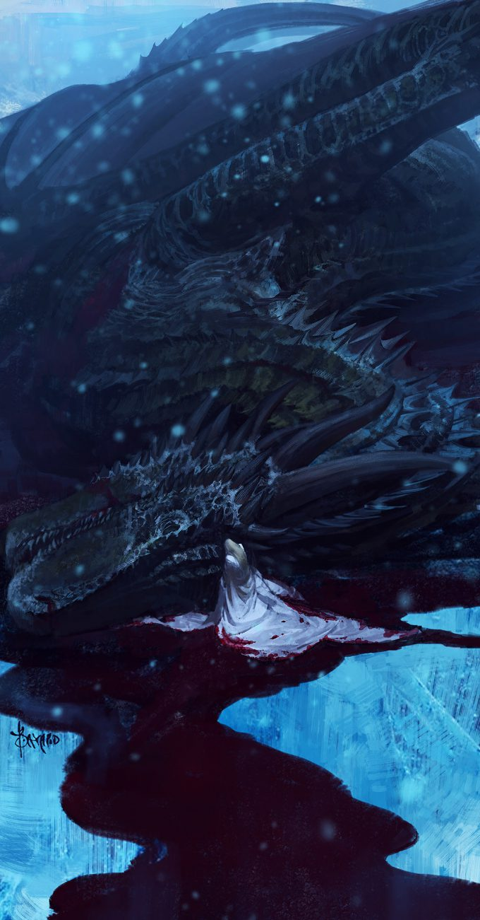 bayard wu game of thrones fan art grieving mother