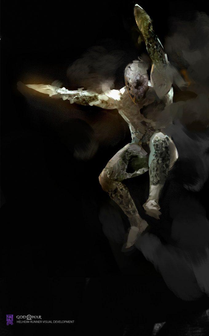 God of War Concept Art Vance Kovacs jumper 008