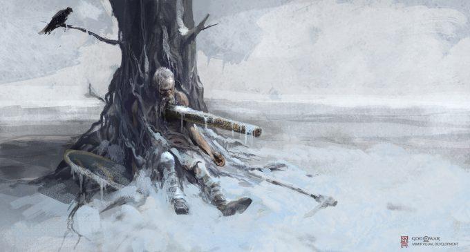 God of War Concept Art Vance Kovacs mimir pinned5 1