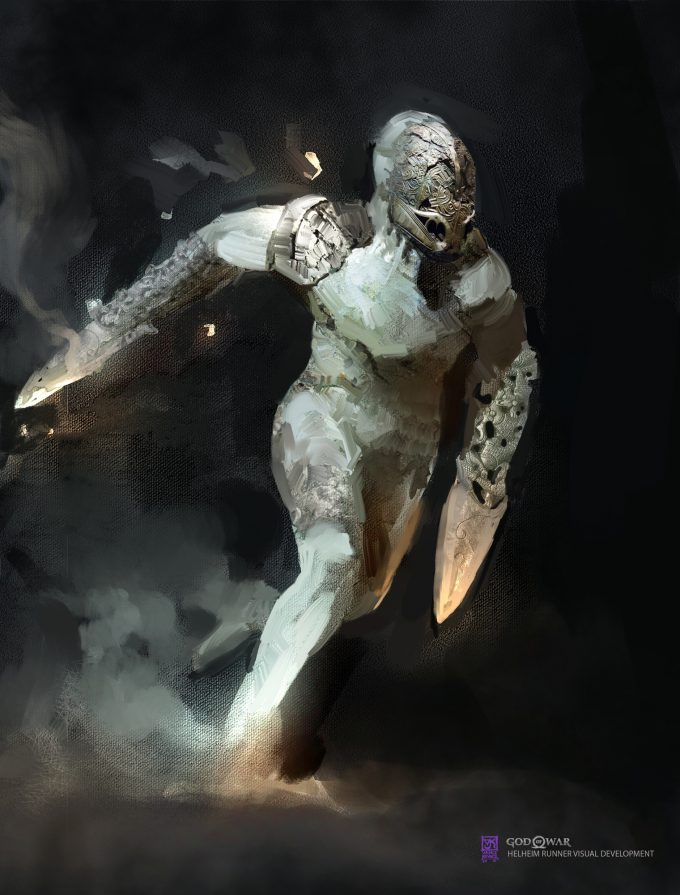 God of War Concept Art Vance Kovacs runner2b 003