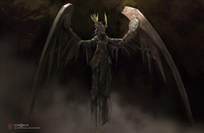 God of War Concept Art Vance Kovacs valkrie 2pointoh2 013 1