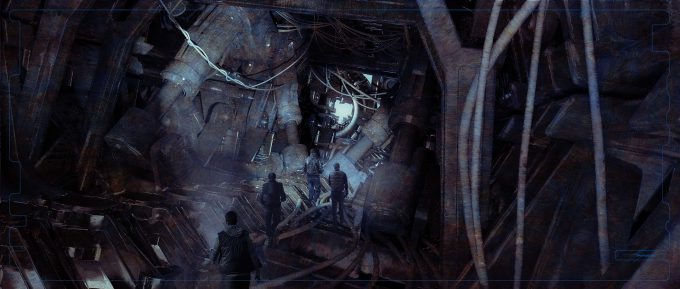 Pacific Rim Uprising Concept Art Sean Hargreaves inside lower torso to leg