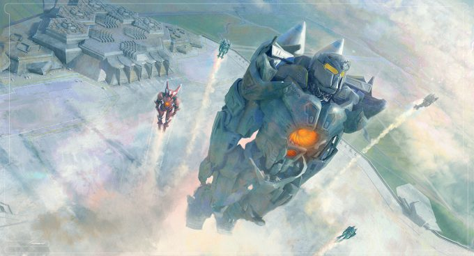 Pacific Rim Uprising Concept Art Sean Hargreaves keyframe taking off 1