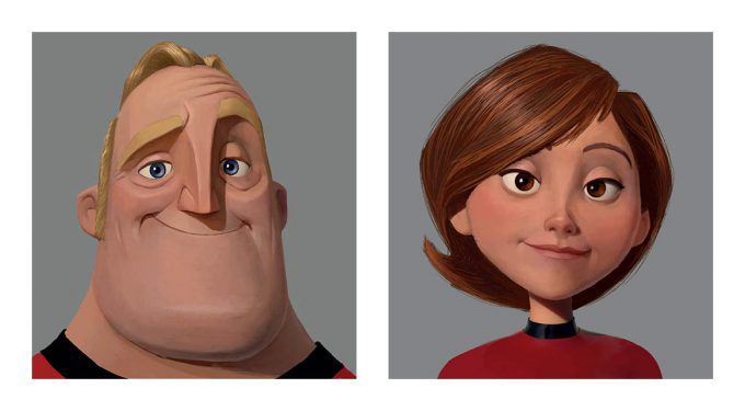 The Art of Incredibles 2 visual development concept art 05