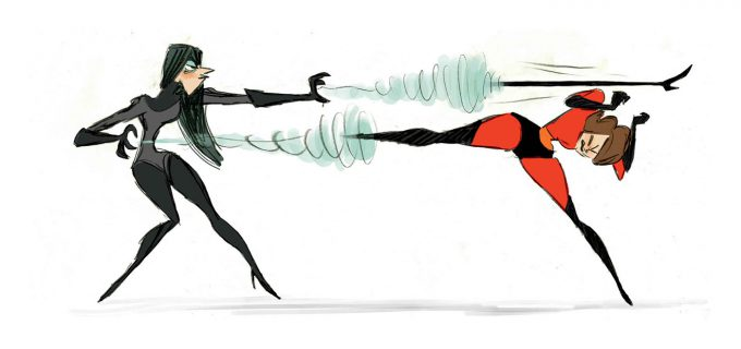 The Art of Incredibles 2 visual development concept art 09