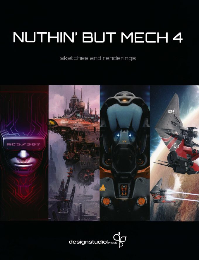 Nuthin But Mech 4 Cover 01