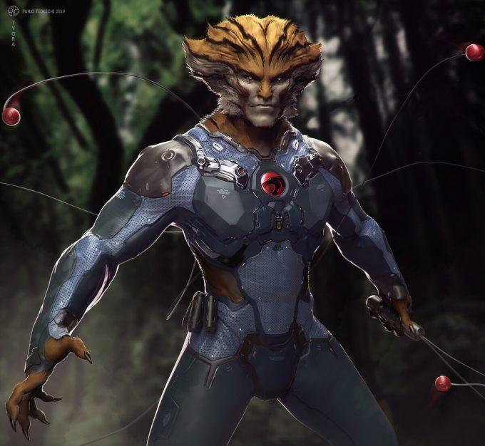 furio tedeschi tygra thundercats character concept design