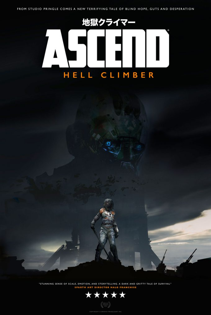 Ascend Hell Climber Graphic Novel poster