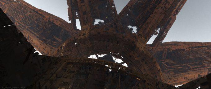 Avengers Infinity War Concept Art Olivier Pron 008 EXT Titan1 ColonyA V1 162104 OP