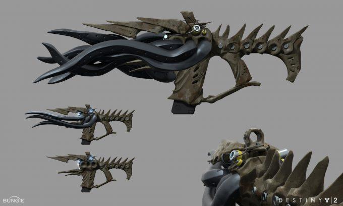 Destiny 2 Forsaken Concept Art Ryan Gitter ahamkara fr