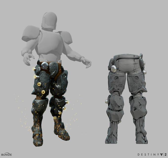 Destiny 2 Forsaken Concept Art Ryan Gitter lavalegs