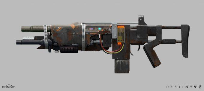 Destiny 2 Forsaken Concept Art Ryan Gitter multibarrelar
