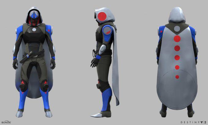 Destiny 2 Forsaken Concept Art Ryan Gitter sonyexclusive hunter