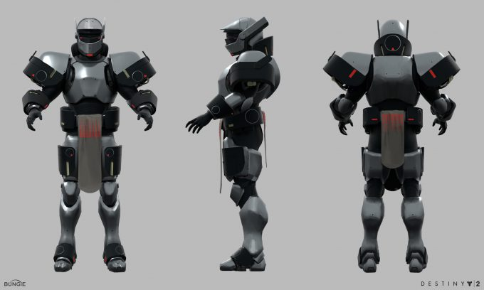 Destiny 2 Forsaken Concept Art Ryan Gitter sonyexclusive titan