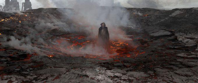 Star Wars The Last Jedi LukeEmergingFromCrater SethEngstrom conceptart