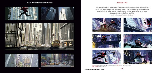 Spider Man Into the Spider Verse The Art of the Movie Book 03