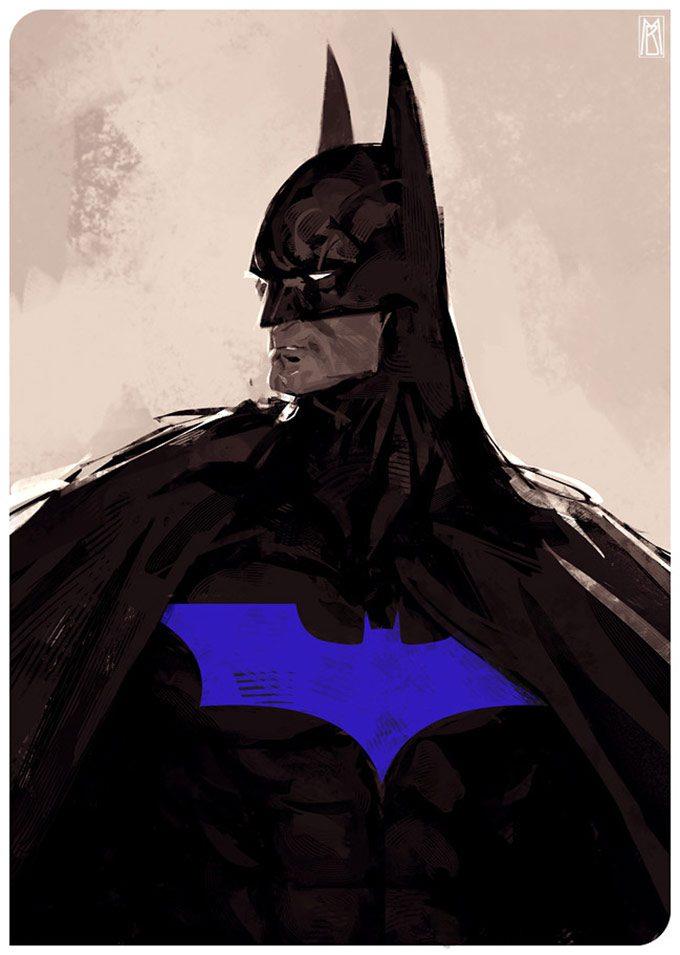 Borislav Mitkov Concept Art batman
