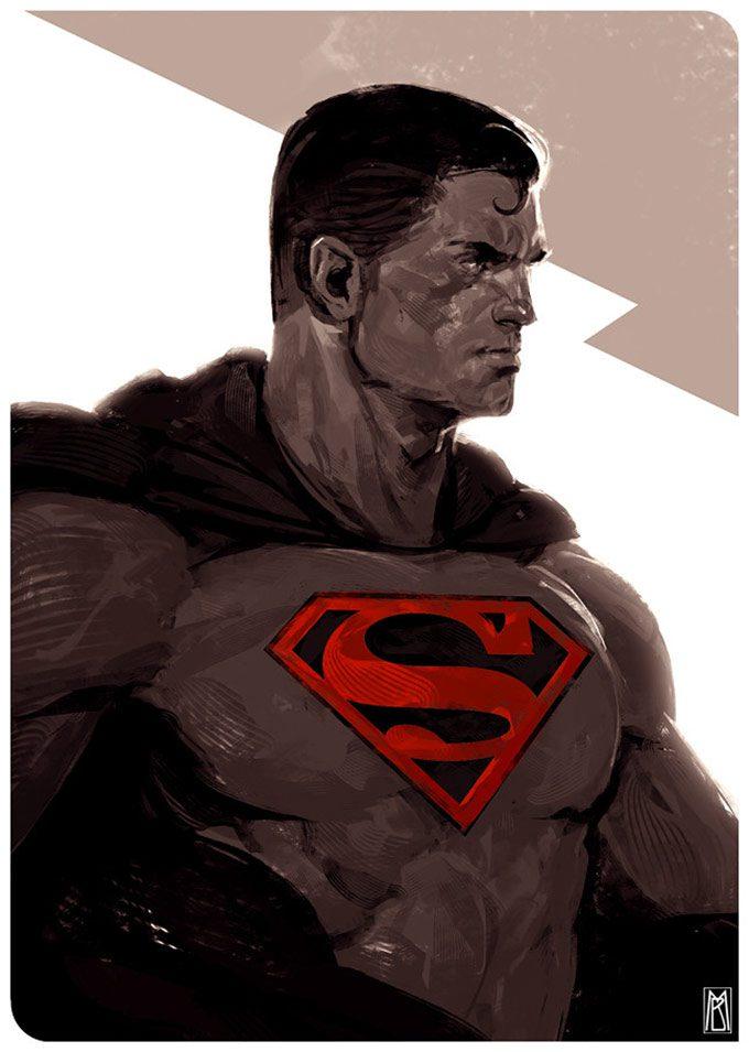 Borislav Mitkov Concept Art superman