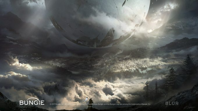 Darek Zabrocki Concept Art destiny vista final