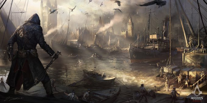 Darek Zabrocki Concept Art westminster river final ac syndicate