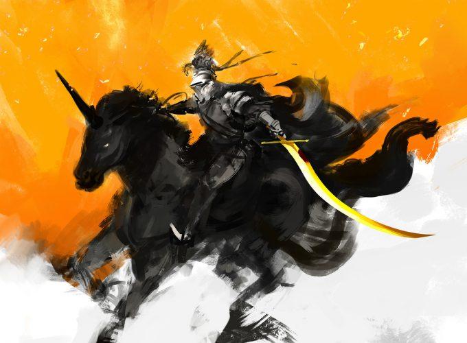 Knight Sketch Collection Concept Art Kekai Kotaki 03