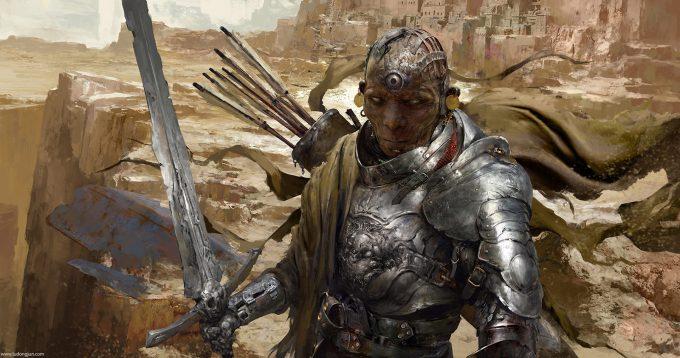 Russell Dongjun Lu Concept Art 01 Desert Knight