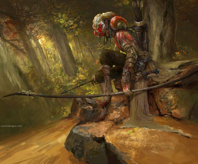 Russell Dongjun Lu Concept Art 02 Wild Hunter