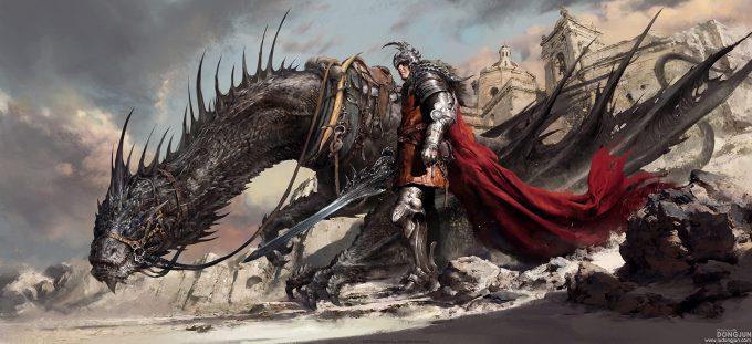 Russell Dongjun Lu Concept Art 07 Dragon Hunter