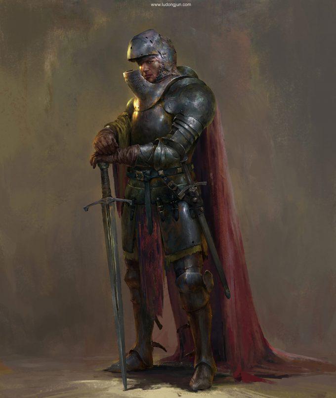 Russell Dongjun Lu Concept Art 10 Verum Knight