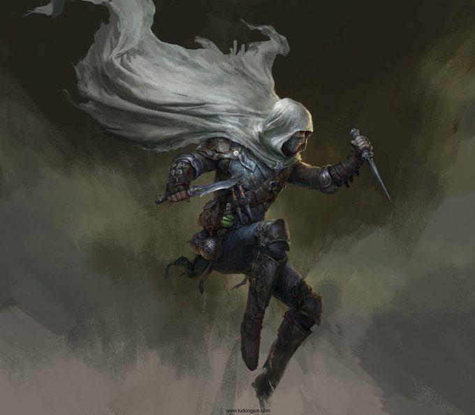 Russell Dongjun Lu Concept Art 20 Assassin