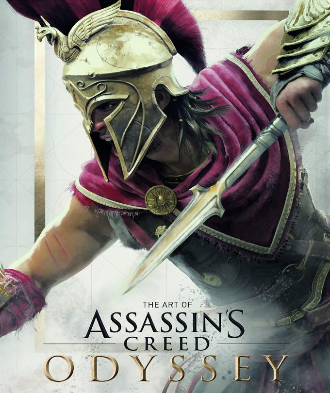 The Art of Assassins Creed Odyssey Book Cover 02