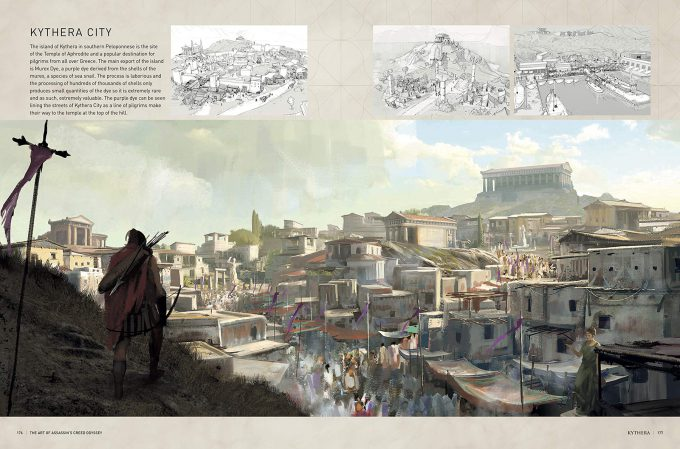 The Art of Assassins Creed Odyssey Book Cover 08